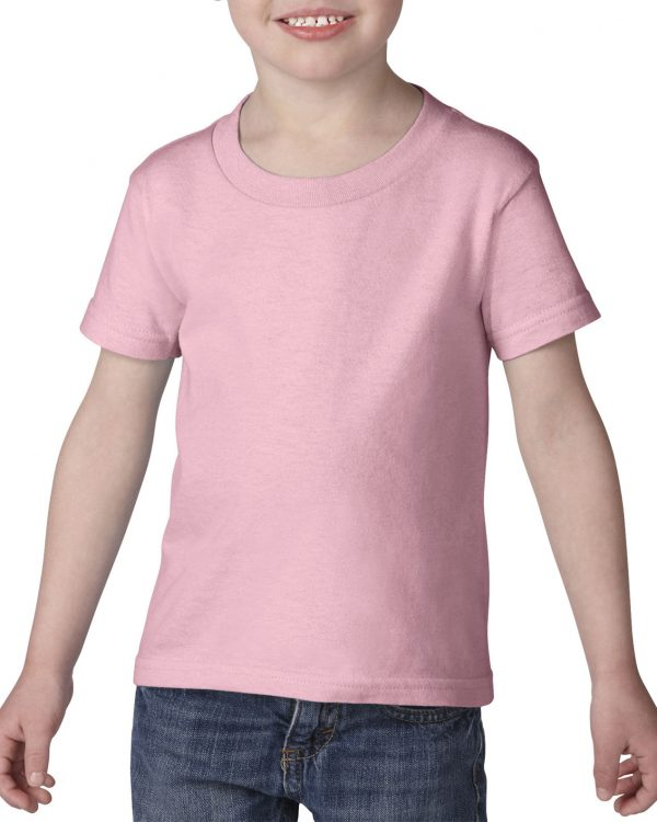 Gildan Heavy Cotton Toddler T-Shirt Light Pink 3T (5100P) 1 | | Promotion Wear