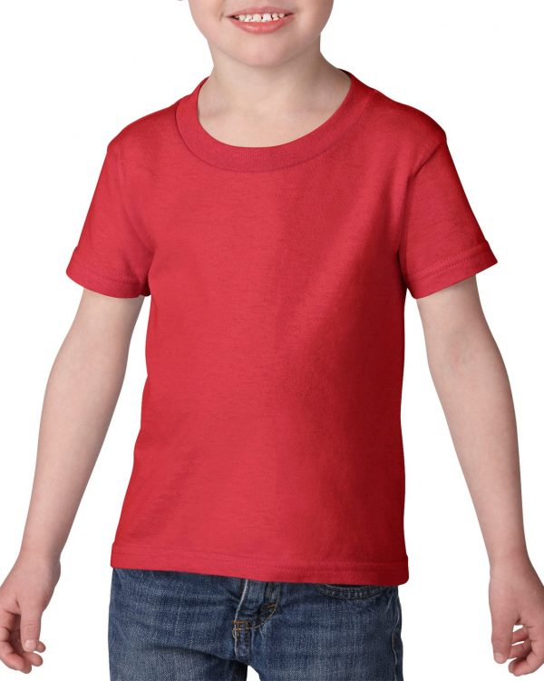 Gildan Heavy Cotton Toddler T-Shirt Red 2T (5100P) 1 | | Promotion Wear