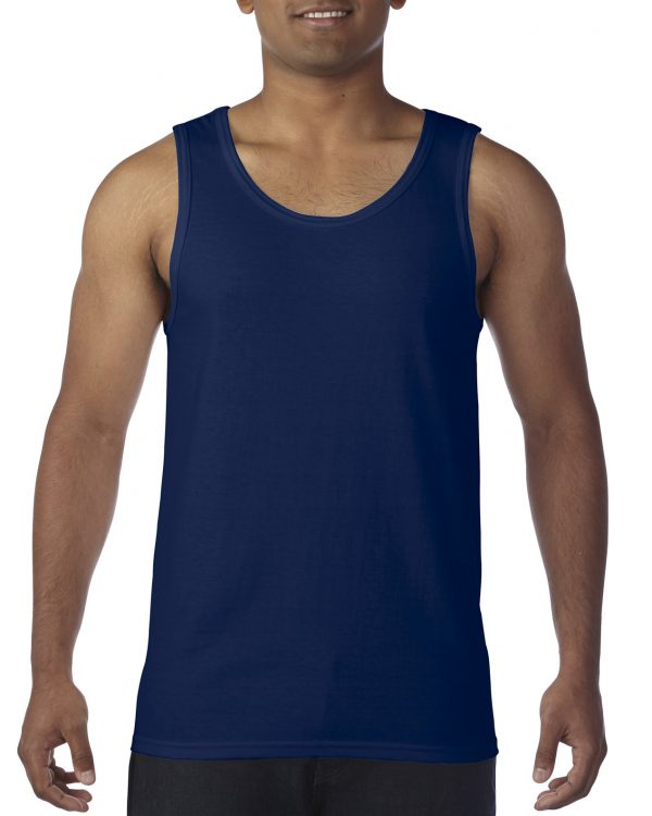 Gildan Heavy Cotton Adult Tank Top Navy Small (5200) 1 | | Promotion Wear