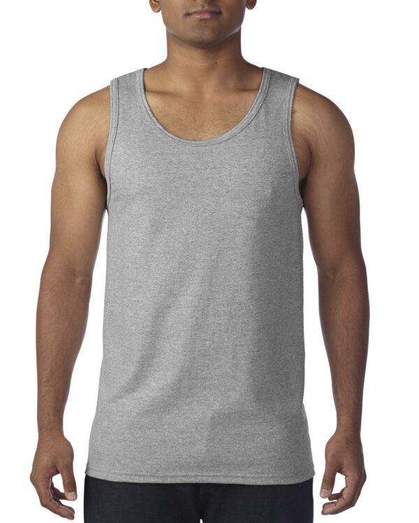 Gildan Heavy Cotton Adult Tank Top Sports Grey 2Xlarge (5200) 1 | | Promotion Wear