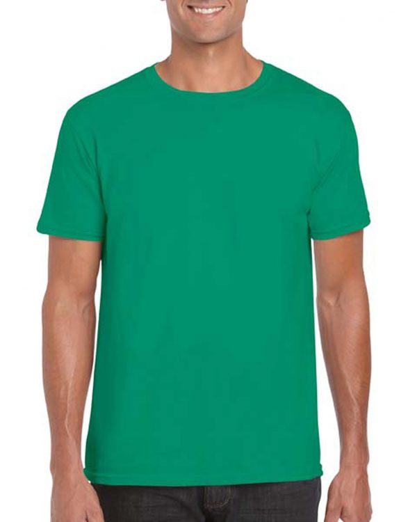 Gildan Softstyle Adult Shirt Kelly Green Small (64000) 1 | | Promotion Wear
