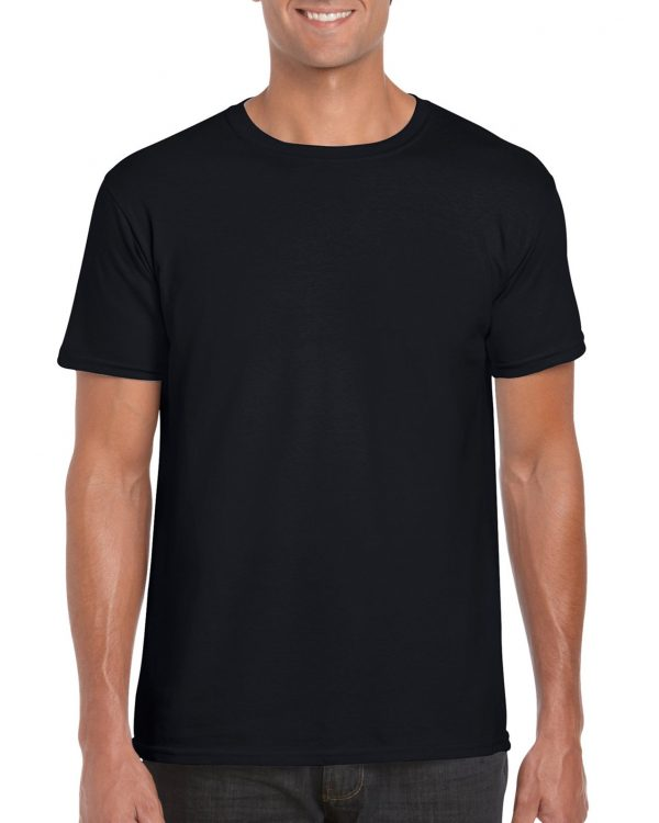 Gildan Softstyle Adult T-Shirt Black Large (64000) 1 | | Promotion Wear