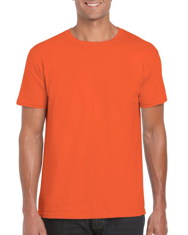 Gildan Softstyle Adult Shirt Orange Small (64000) 1 | | Promotion Wear