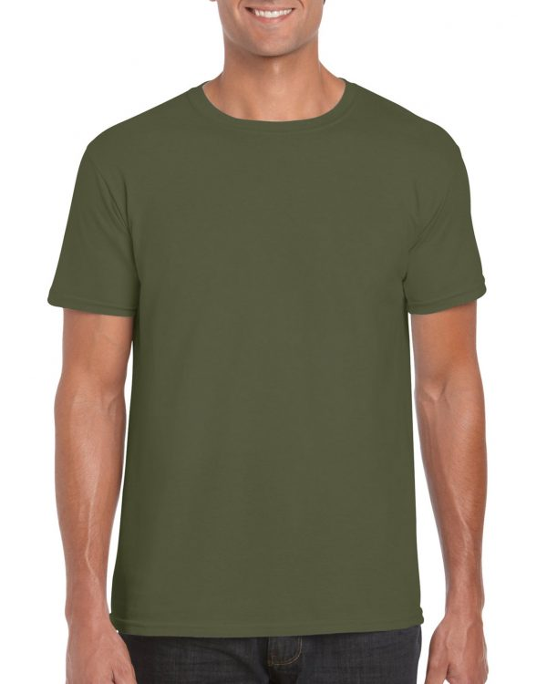 Gildan Softstyle Adult T-Shirt Military Green Large (64000) 1 | | Promotion Wear