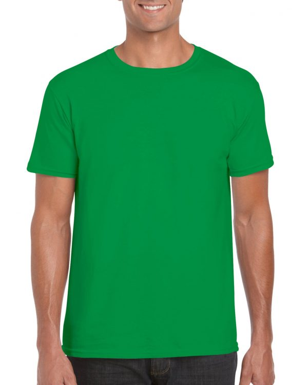Gildan Softstyle Adult T-Shirt Irish Green Large (64000) 1 | | Promotion Wear