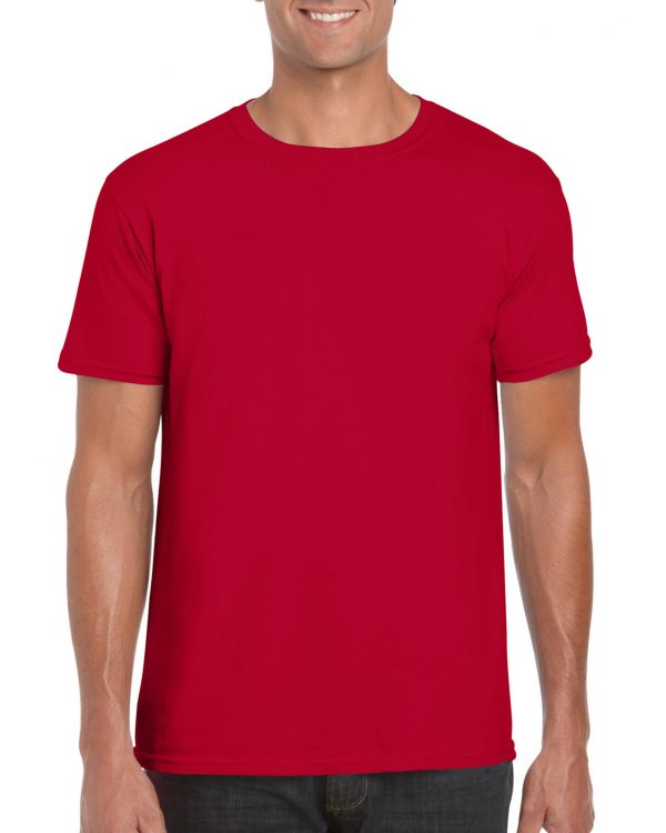 Gildan Softstyle Adult T-Shirt Cherry Red Xlarge (64000) 1 | | Promotion Wear