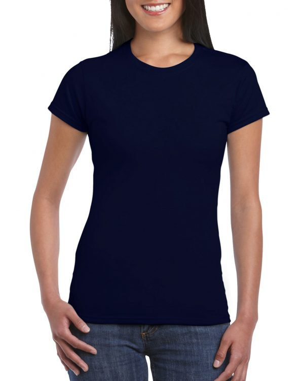 Gildan Softstyle Ladies' T-Shirt Navy Small (64000L) 1 | | Promotion Wear