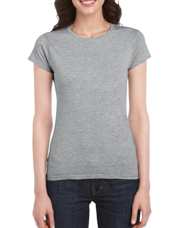 Gildan Softstyle Ladies' T-Shirt RS Sport Grey Small (64000L) 1 | | Promotion Wear