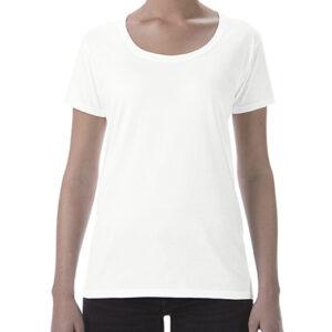 Gildan Ladies Deep Scoop Tee (64550L) 1     Promotion Wear