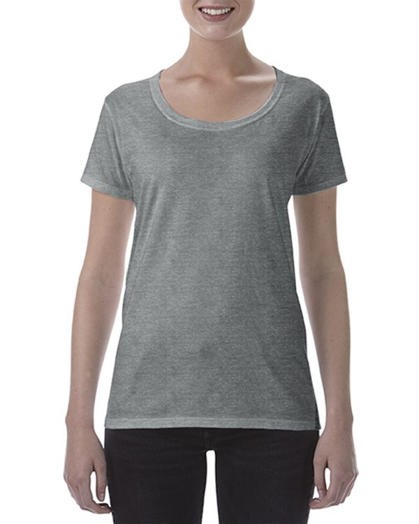 Gildan Ladies Deep Scoop Tee Graphite Heather Xlarge (64550L) 1 | | Promotion Wear
