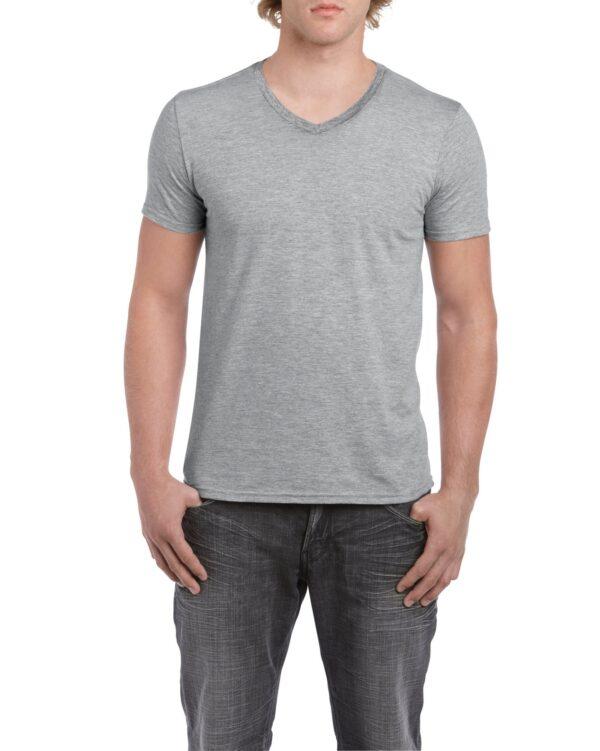 Gildan Sofystyle Adult V-Neck T-Shirt Black Xlarge (64V00) 1     Promotion Wear