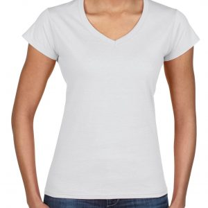Gildan Softstyle Ladies' V-Neck T-Shirt (64V00L) 1 | | Promotion Wear