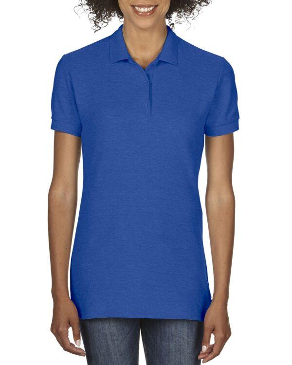 Gildan Premium Cotton Ladies Double Pique Sport Shirt Royal Medium (82800L) 1     Promotion Wear