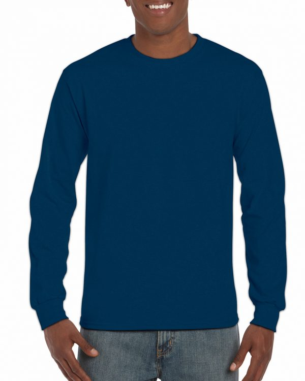 Gildan Hammer Adult Long Sleeve T-Shirt Sport Dark Navy Xlarge (H400) 1 | | Promotion Wear
