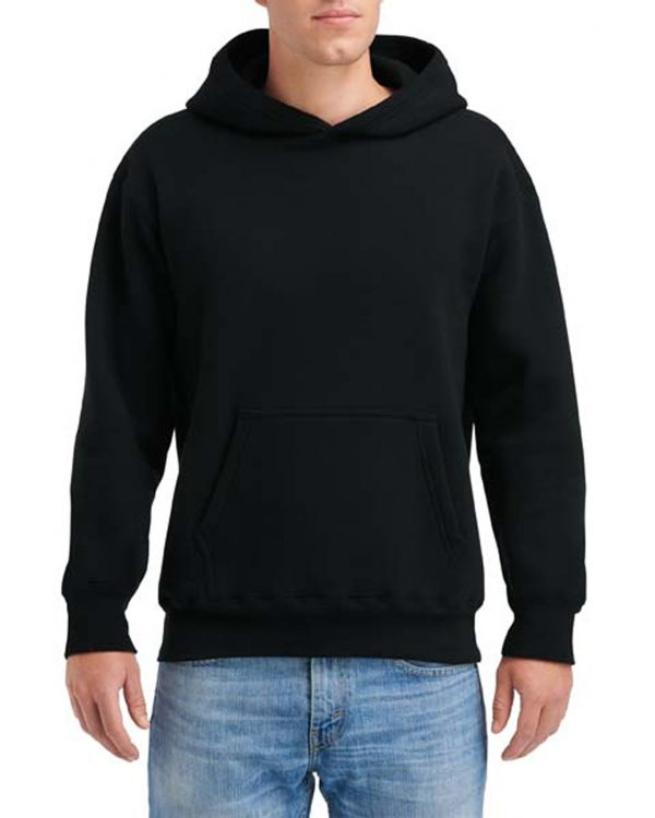 Gildan Hammer Fleece Adult Hood Black Medium (HF500) 1 | | Promotion Wear