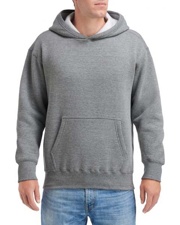 Gildan Hammer Fleece Adult Hood Graphite Heather Small (HF500) 1 | | Promotion Wear