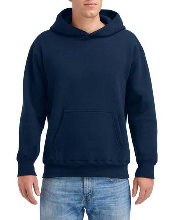Gildan Hammer Fleece Adult Hood Sport Dark Navy Medium (HF500) 1 | | Promotion Wear