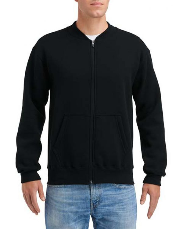 Gildan Hammer Fleece Adult Full Zip Jacket Black Small (HF700) 1 | | Promotion Wear