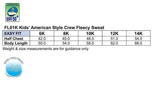 FL01K EAGLE TOP Fleece Sweat Kids'