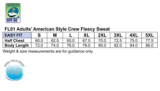 FL01 EAGLE TOP Fleece Sweat- Unisex