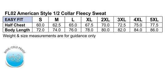 FL02 FALCON Fleece Sweat Top Men's