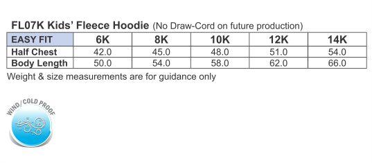 FL07K WARM HUG Kids' Fleece Hoodie