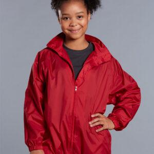 JK10K RAIN FOREST Spray Jacket Kid's 4     Promotion Wear