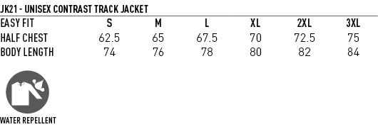 JK21 CHAMPION'S TRACK TOP - Unisex