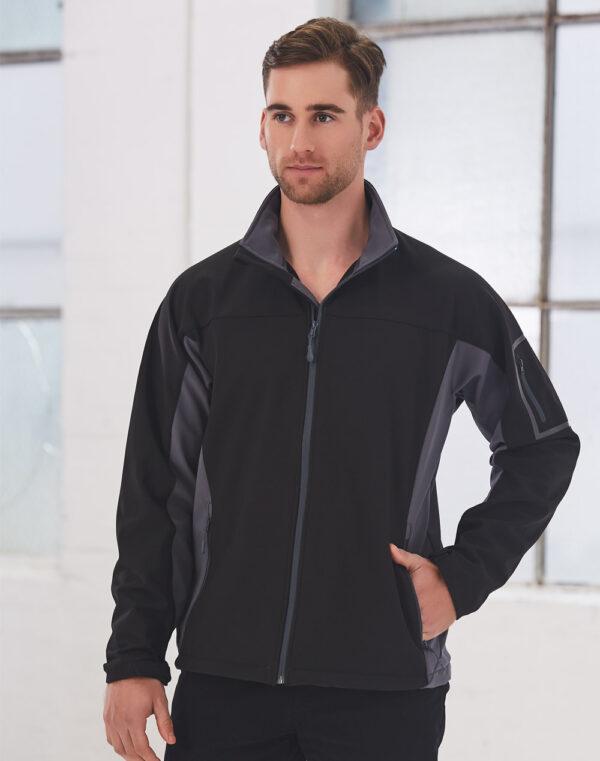 JK31 WHISTLER Softshell Contrast Jacket Men's 1     Promotion Wear