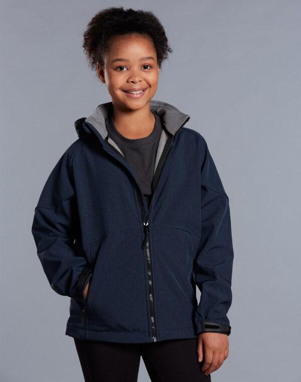 JK33K ASPEN Softshell Hood Jacket Kids' 1     Promotion Wear