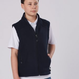 PF09K Diamond Fleece Vest Kids