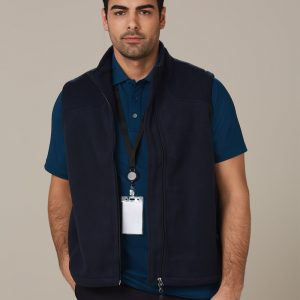 PF09 Diamond Fleece Vest Men's