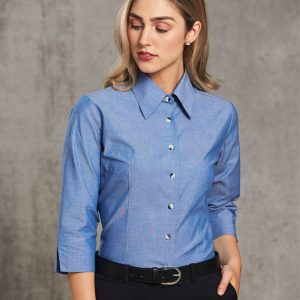 BS04 Ladies' Chambray 3/4 Sleeve 1 | | Promotion Wear