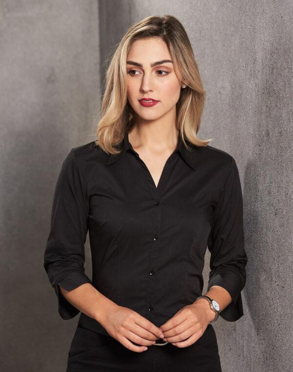 BS07Q Women's Teflon Executive 3/4 Sleeve Shirt 1 | | Promotion Wear