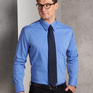 BS08L Men's Teflon Executive Long Sleeve Shirt