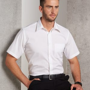 BS08S Men's Telfon Executive Short Sleeve Shirt 1     Promotion Wear