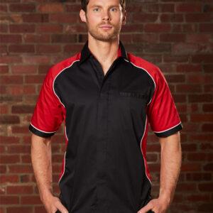 BS15 Men's Arena Tri-colour Contrast Shirt 1 | | Promotion Wear