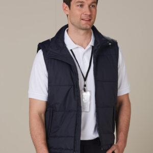 JK29 PADDED VEST Men's 3     Promotion Wear