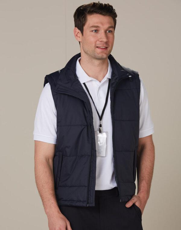 JK29 PADDED VEST Men's 1     Promotion Wear