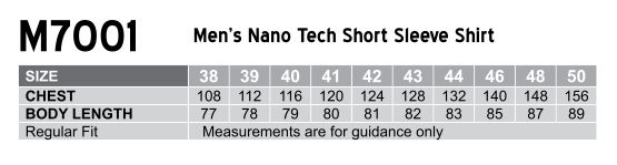 M7001 Men's Nano ™ Tech Short Sleeve Shirt