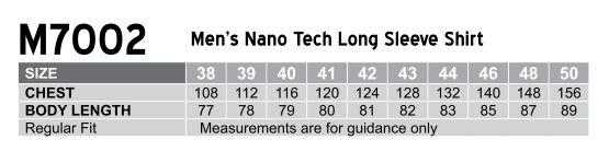 M7002 Men's Nano ™ Tech Long Sleeve Shirt