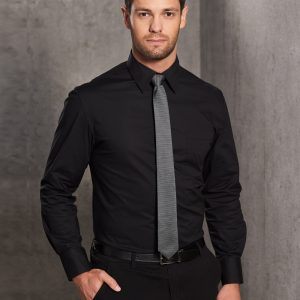 M7020L Men's Cotton/Poly Stretch Long Sheeve Shirt 1     Promotion Wear