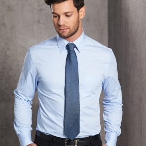 M7030L Men's Fine Twill Long Sleeve Shirt