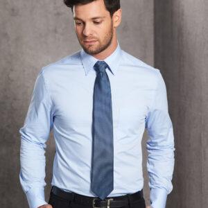 M7030L Men's Fine Twill Long Sleeve Shirt 3     Promotion Wear
