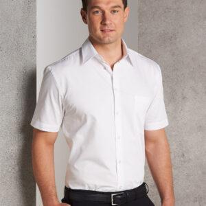 M7030S Men's Fine Twill Short Sleeve Shirt