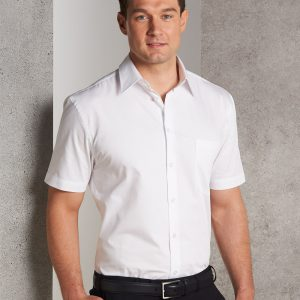 M7030S Men's Fine Twill Short Sleeve Shirt 1 | | Promotion Wear