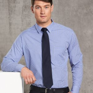 M7320L Men's Multi-Tone Check Long Sleeve Shirt