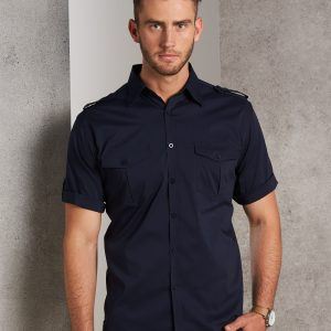 M7911 Men's Short Sleeve Military Shirt 5 | | Promotion Wear