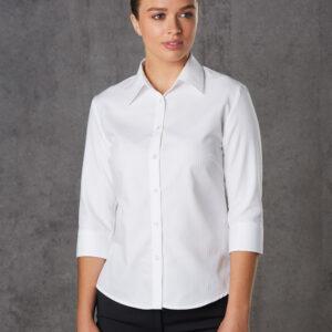 M8113 Women's Mini Herringbone 3/4 Sleeve Shirt 3 | | Promotion Wear
