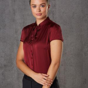 M8810 Women's Tie Neck Blouse 1 | | Promotion Wear